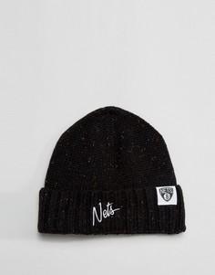 Шапка-бини Mitchell & Ness Brooklyn Nets - Черный