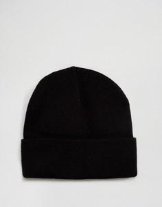 Черная шапка-бини Gregorys - Черный
