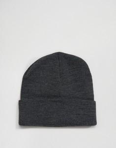 Темно-серая шапка-бини Gregorys - Серый