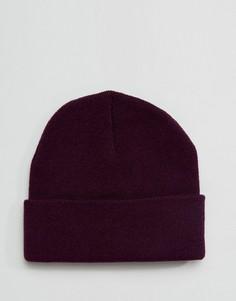 Фиолетовая шапка-бини Gregorys - Фиолетовый