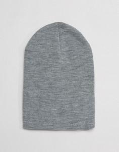 Серая шапка-бини Gregorys - Серый