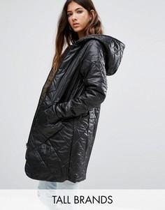 Двустороннее дутое пальто Vero Moda Tall - Черный