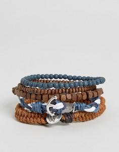 Набор браслетов в морском стиле Icon Brand - Мульти