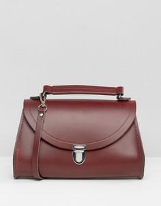 Миниатюрная кожаная сумка через плечо The Cambridge Satchel Company - Красный