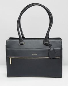 Структурированная сумка‑тоут Modalu Erin - Черный