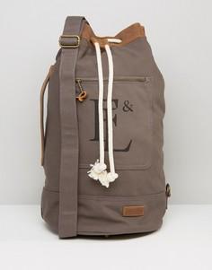 Серый парусиновый рюкзак Forbes & Lewis Arnold - Серый