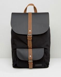 Черный кожаный рюкзак Forbes & Lewis Lincoln - Черный
