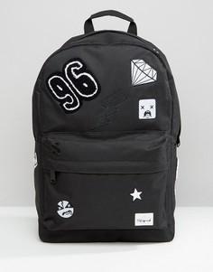 Рюкзак с нашивками Spiral - Черный