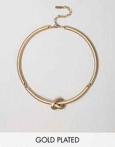Ожерелье с узлом Pilgrim - Золотой