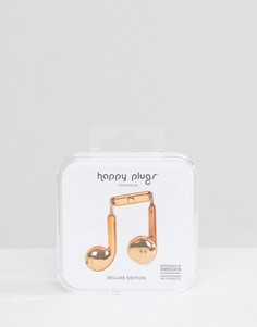 Наушники цвета розового золота Happy Plugs - Мульти