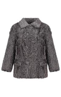 Жакет из меха козлика на синтепоне Virtuale Fur Collection
