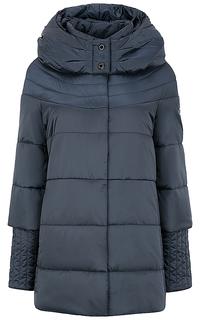 утепленное пальто с капюшоном Laura Bianca