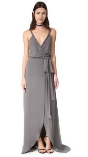 Платье-халат Parker с перекрученной отделкой Joanna August