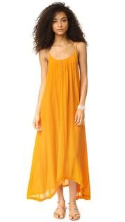 Макси-платье Tulum с необработанными краями 9seed