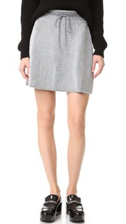 Металлизированная трикотажная юбка M Missoni