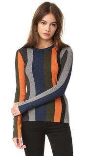 Металлизированный свитер Paul Smith