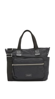 Нейлоновая сумка для детских вещей в байкерском стиле Marc Jacobs