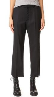Укороченные костюмные брюки R13