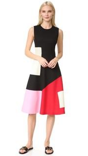 Платье-трапеция без рукавов Novis
