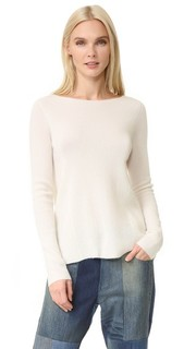 Кашемировый свитер с приспущенными плечами TSE Cashmere