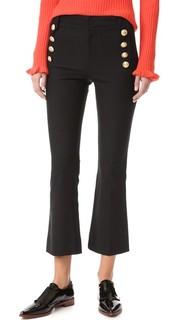 Укороченные брюки Sailor Derek Lam 10 Crosby