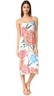 Платье-комбинация из жатого крепа Mara Hoffman