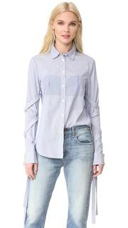 Рубашка со съемными бретельками Tibi