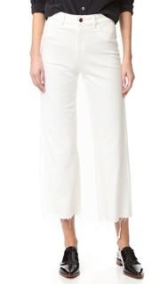 Широкие джинсы Hepburn с высокой посадкой Dl1961
