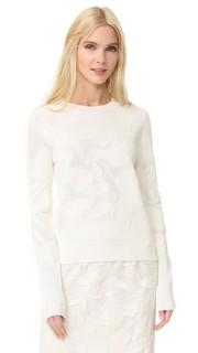 Текстурированный пуловер Grey Jason Wu