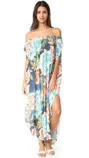 Пляжное платье с открытым плечами Mara Hoffman