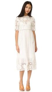 Платье с вышивкой Caravan Day Zimmermann