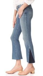 Укороченные буткат-джинсы Mini Frame