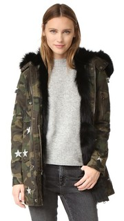 Пальто в стиле карго из армейской ткани Jocelyn