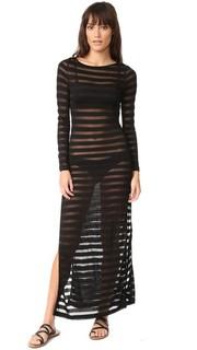 Макси-платье с разрезом сбоку Mara Hoffman