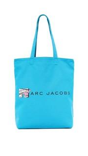 Объемная холщовая сумка MTV с короткими ручками Marc Jacobs
