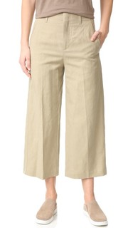 Укороченные брюки с высокой талией Vince