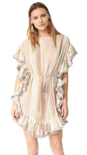 Развевающееся пляжное платье Tropical с бахромой Zimmermann