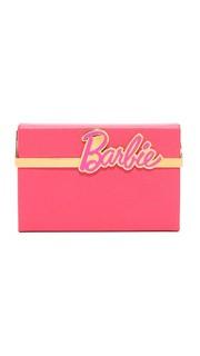 Клатч-бокс Charlotte Olympia x Barbie Vanina