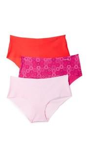 Комплект из трех трусиков Invisibles с низкой талией Calvin Klein Underwear