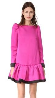 Платье с оборками и длинными рукавами Marc Jacobs