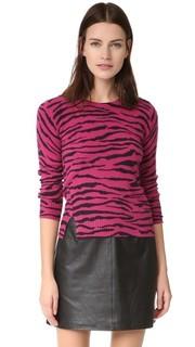 Кашемировый свитер в тигровую полоску Marc Jacobs