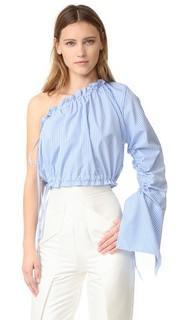 Рубашка Crescent с открытым плечом Georgia Alice