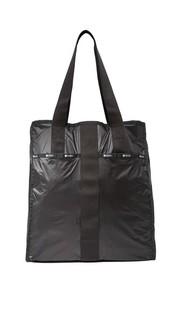 Большая объемная сумка с короткими ручками City Le Sportsac