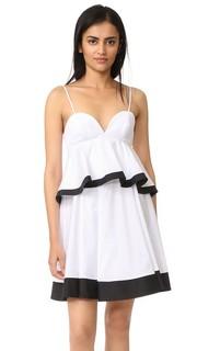 Платье Melody из ткани в рубчик Milly