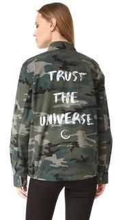 Куртка в стиле милитари Trust the Universe Spiritual Gangster