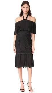Кружевное коктейльное платье Berry Temperley London