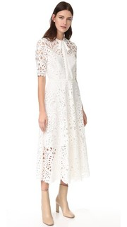 Кружевное платье Berry Temperley London