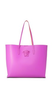 Объемная сумка с короткими ручками Versace