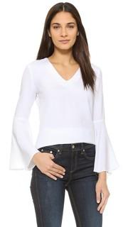 Блуза с расклешенными рукавами Wayf