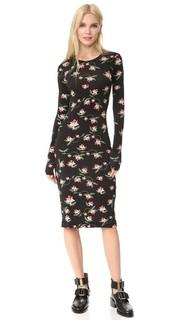 Платье Myra с принтом в виде нарциссов Preen By Thornton Bregazzi